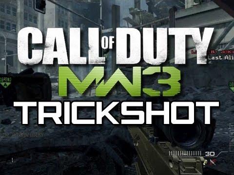 MW3 New Trickshot - The High Five Trickshot (Funny MW3 Trickshot Tutorial Parody)