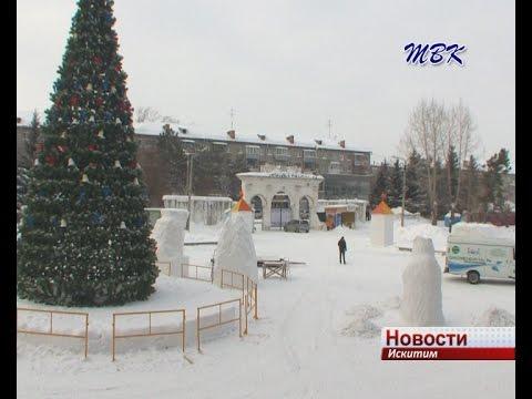 Новосибирские скульпторы  поражены небрежным отношением искитимцев к снежным фигурам в парке