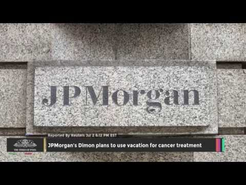 JPMorgan's Dimon Plans To Use Vacation For Cancer Treatment - TOI