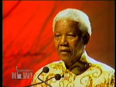 Nelson Mandela Condemns George W. Bush and War With Iraq, January 30th, 2003