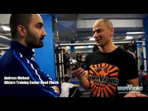 Coach Andreas Talks about Alexander The Mauler Gustafsson facing Jimi Manuwa