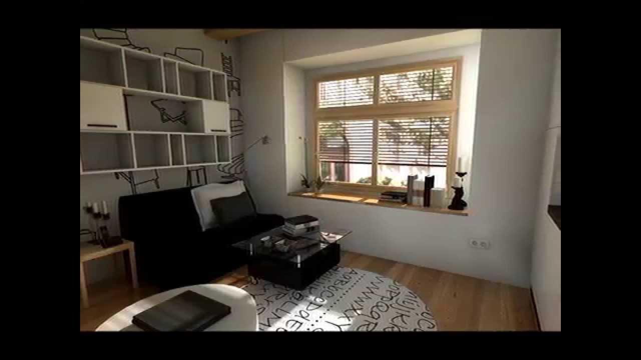 Dise o interior piso 16 m2 youtube - Decoraciones de pisos ...