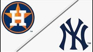 Houston Astros vs New York Yankees | ALCS Game 3 Full Game Highlights