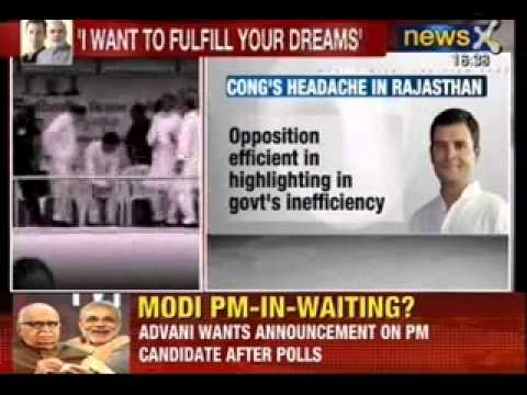 NewsX:  Rahul Gandhi vs Narendra Modi in pm race