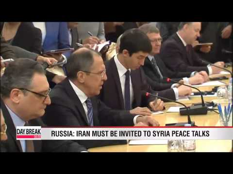 Russia: Iran must be invited to Syria peace talks