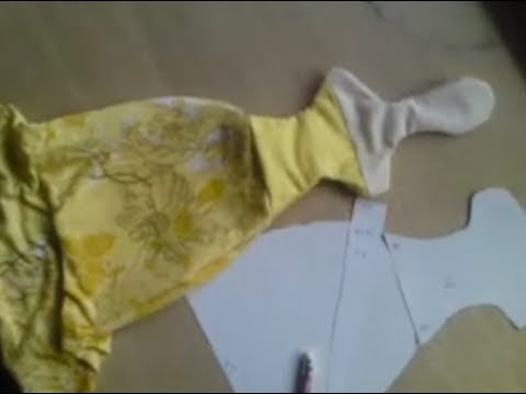 How to make angle with a long dress