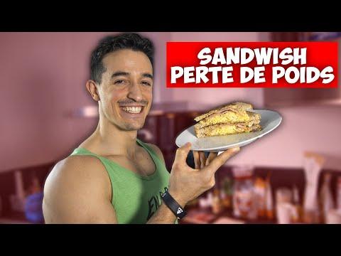 Recette sandwich healthy pour perdre du poids !