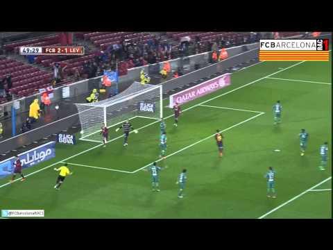 T13/14 1/4 Copa del Rei: FC Barcelona 5-1 Levante UD (RAC1)