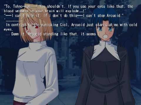 Tsukihime English Patch From Mirror Moon - theoryzip