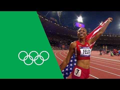 Allyson Felix Looks Back On Her Olympic Journey | Olympic Rewind