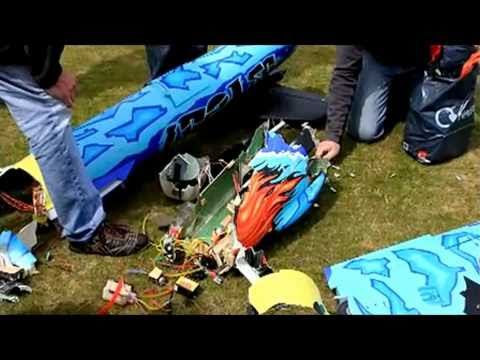 RC Jet Crashes