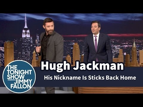 Hugh Jackman's Nickname Is Sticks Back Home