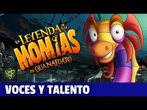 La Leyenda de las Momias de Guanajuato Making Of Voces