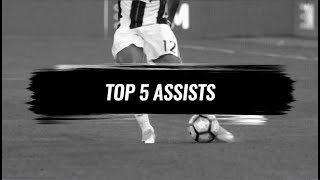 Juventus' Top 5 Assists of 2016/17. Vote your favourite!