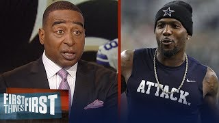 Cris Carter on reports Dez Bryant is scheduled to work out for the Saints | NFL | FIRST THINGS FIRST