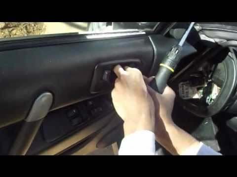 How To Take The Door Panel Off Eclipse 3g Youtube