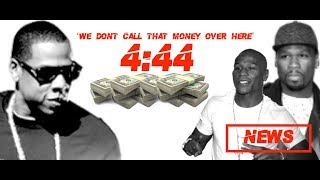 Jay-Z CALLS OUT 50 Cent and Floyd Mayweather on 4:44 'We Dont Cal That Money Over here'