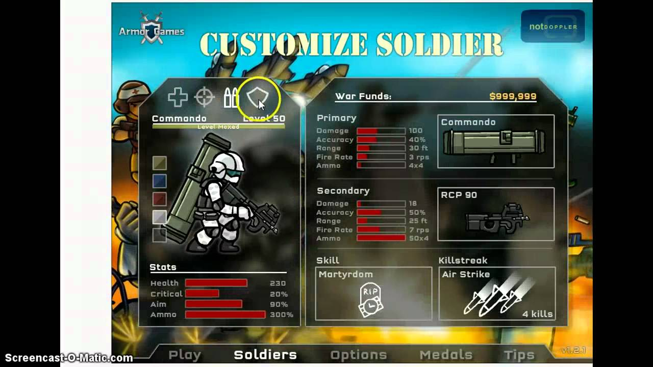 Strike Force Heroes 3 Hacked Unblocked
