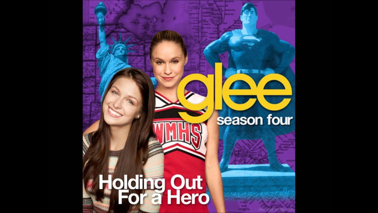 glee holding out for a hero by bonnie tyler full. Black Bedroom Furniture Sets. Home Design Ideas