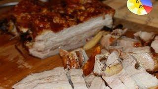 Lechon Sa Hurno ( Roasted Oven Pork )
