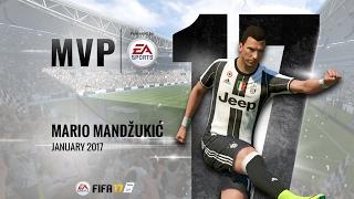 Mario Mandzukic, January MVP powered by EA!