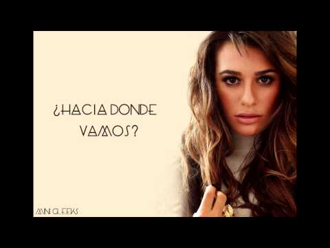 Lea Michele - On My Way (Letra en Español)