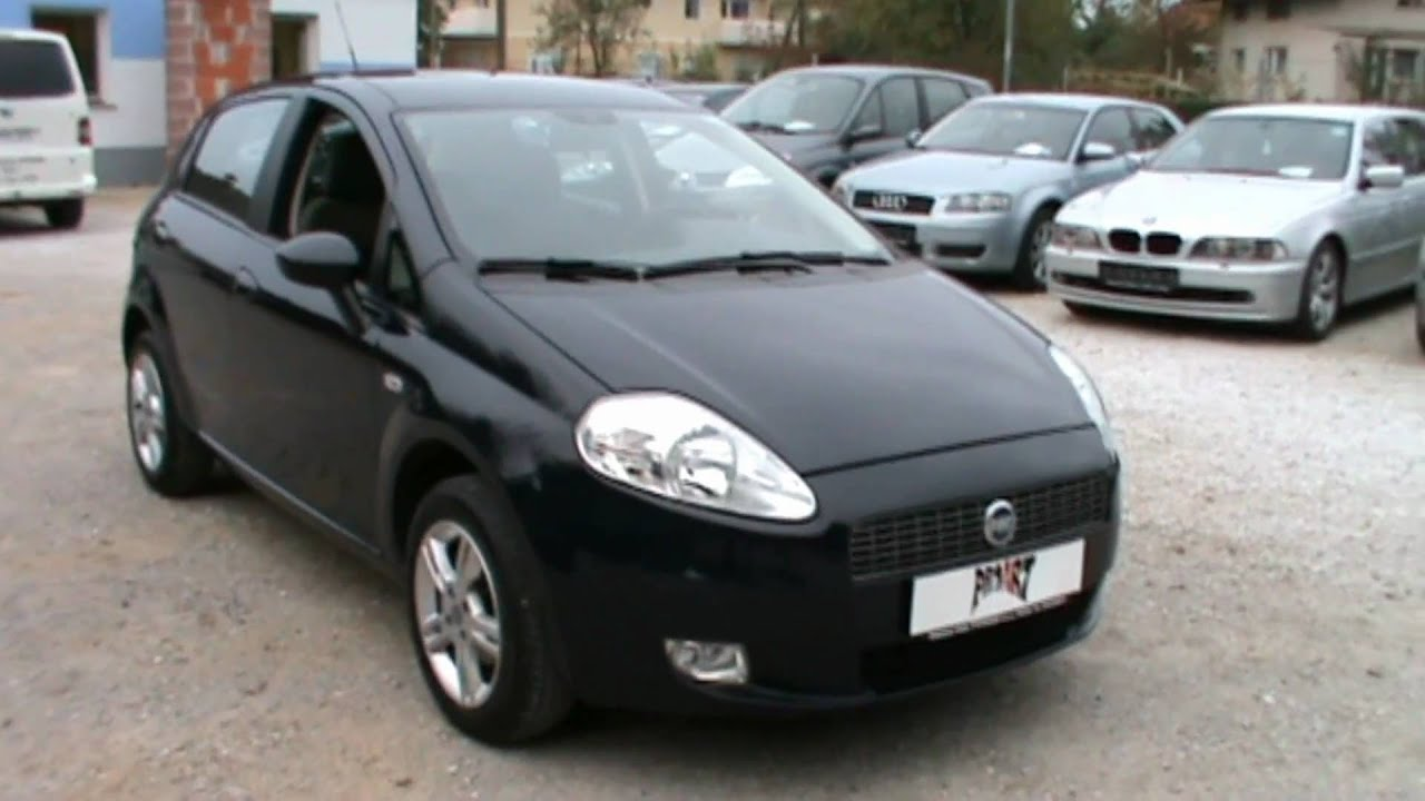 2008 fiat grande punto actual full review start up for Fiat punto 1 interieur