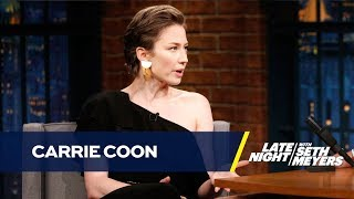 LeBron James Used to Hang Out When Carrie Coon Worked at Best Buy