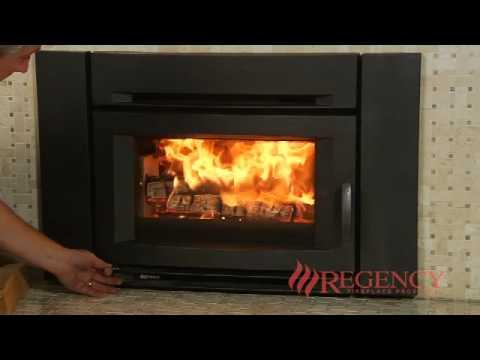 Regency Alterra Ci1200 Wood Fireplace Insert Youtube