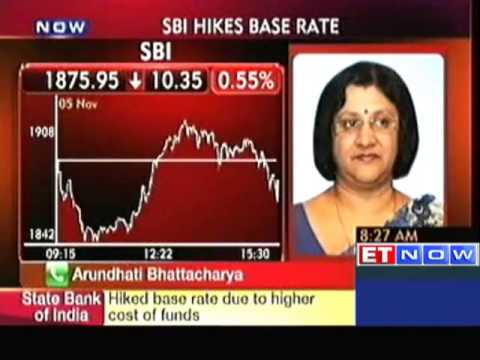 SBI increases base rate by 20 bps