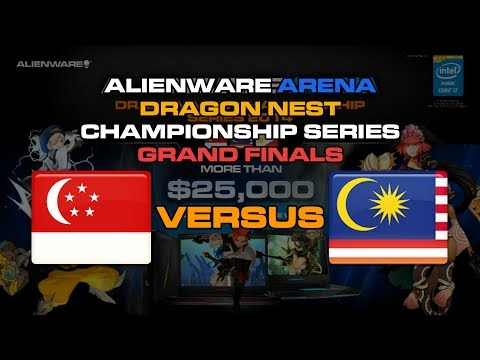 Alienware Arena C.Series 2014 - Singapore vs Malaysia (3v3) Match A Highlights ~ !