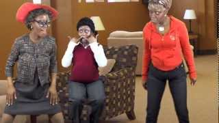 GRANNY WEARING APPLE BOTTOMS/ DANCE OFF (DRAKE- Starting From The Bottom Parody)~CGTV