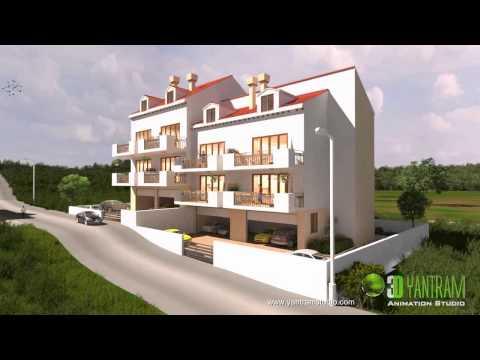 Residential Apartment 3D Animation Walkthrough in Dubrovnik, Croatia
