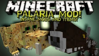 Minecraft Mods PALARIA MOD!! INSANE MOBS AND ITEMS