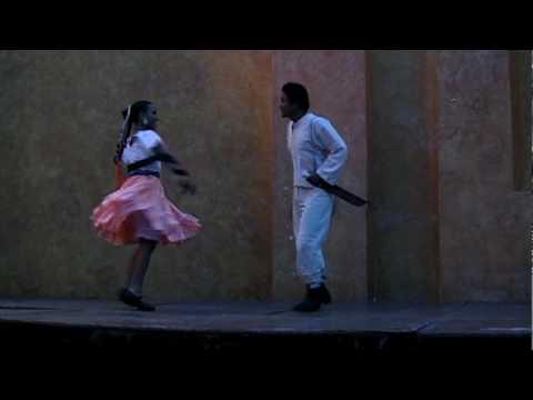 Danza folklórica - El sombrerito, Huasteca hidalguense, huapango.