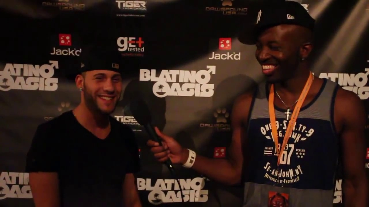 Gay Event Blatino Oasis 2014 Exclusives! XL, Jovonnie
