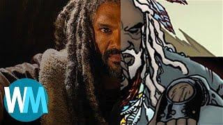 Walking Dead's King Ezekiel: Comic Book Origins