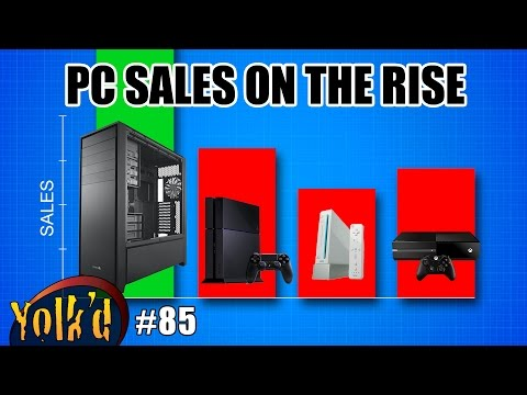 The PC is not dead, Google gives back anonymity, & the sweetest 3D printer ever -- Yolk'd #85