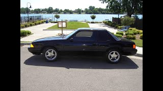 1993 Ford Mustang LX Notchback- SuperchargedFOR SALE