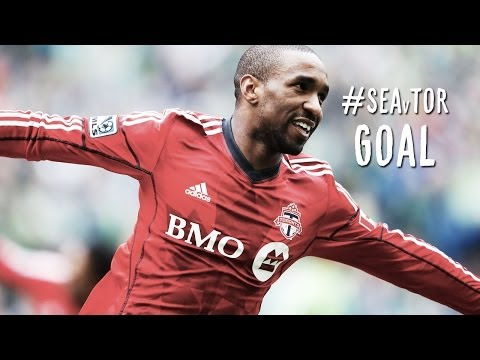 GOAL: Jermain Defoe knocks in his first MLS goal | Seattle Sounders vs. Toronto FC