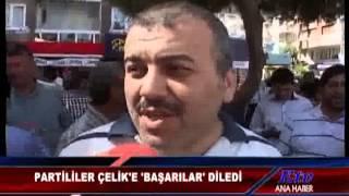 AK PARTİLİLERDEN ÖMER FARUK ÇELİK'E TAM DESTEK