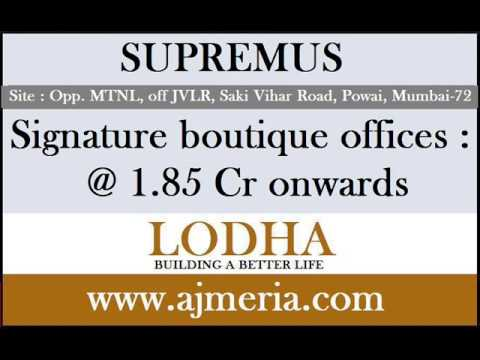 SupremusLODHA-powai-mumbai-signature-boutique-offices-commercial-property-ajmeria.com