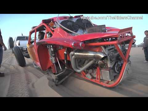 Sandrail Shuts Down Glamis Sand Drags Halloween 2013