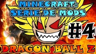 Minecraft DRAGON BALL Z Serie De MODS Ep.#4