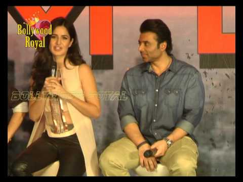 Aamir Khan, Katrina Kaif, Abhishek Bachchan & others at Media Conference of ''Dhoom 3'' Part-6
