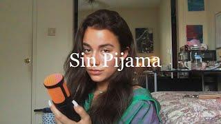 i tried singing in spanish... Sin Pijama - Becky G & Natti Natasha(Cover)