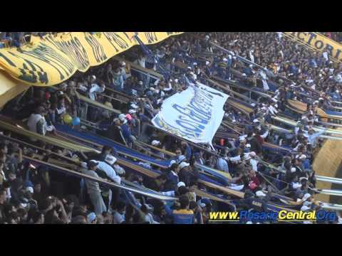 La Hinchada Canalla (Los Guerreros) vs Boca U. (2/05/11) (HD)