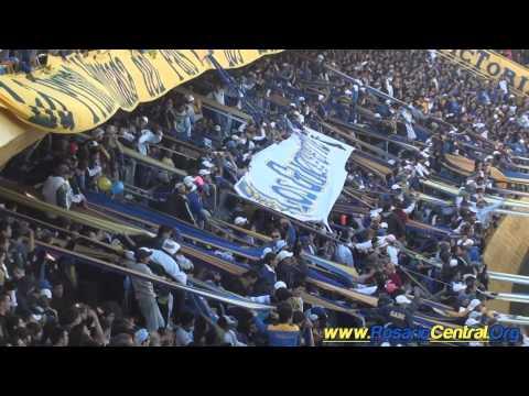 La Hinchada Canalla (Los Guerreros) vs Boca U. (2/05/11) (HD)