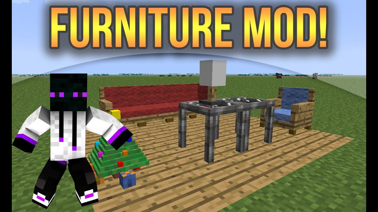 Minecraft 1 8 1 Descargar E Instalar Furniture Mod Jammy Furniture Youtube
