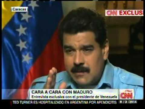 Maduro CNN Amanpour (primer negro)